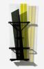 <br/>Verre, acier peint, film gélatine<br/>178,5 x 68,5 x 45 cm<br/>©François Fernandez